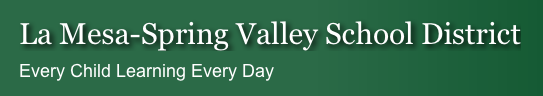 La Mesa – Spring Valley School District
