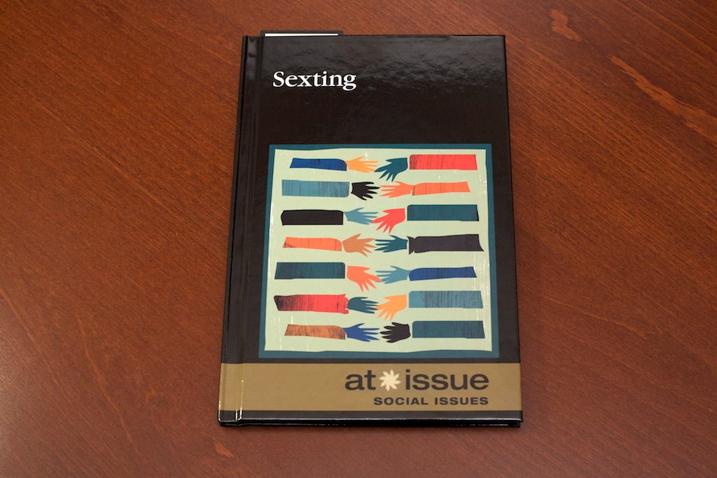 My sexting blog post published in the book Sexting by Cengage Learning!
