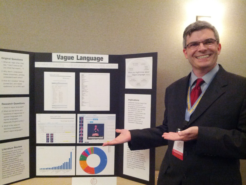 Me and my VL poster at CIT 2012