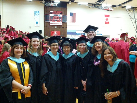 MAIS Grads at Commencement
