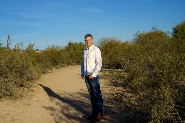 Me, hiking