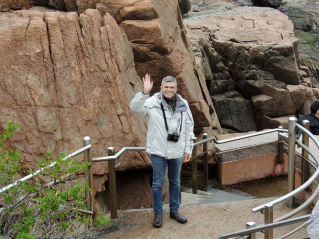 Me in Bar Harbor, Maine