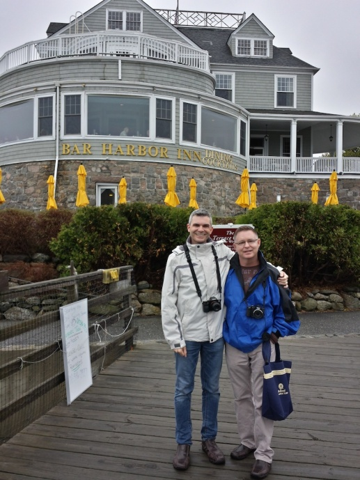 Andy & me in Bar Harbor, Maine