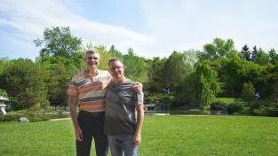 Andy & me in Jardin Botanique de Montréal (1 of 2)