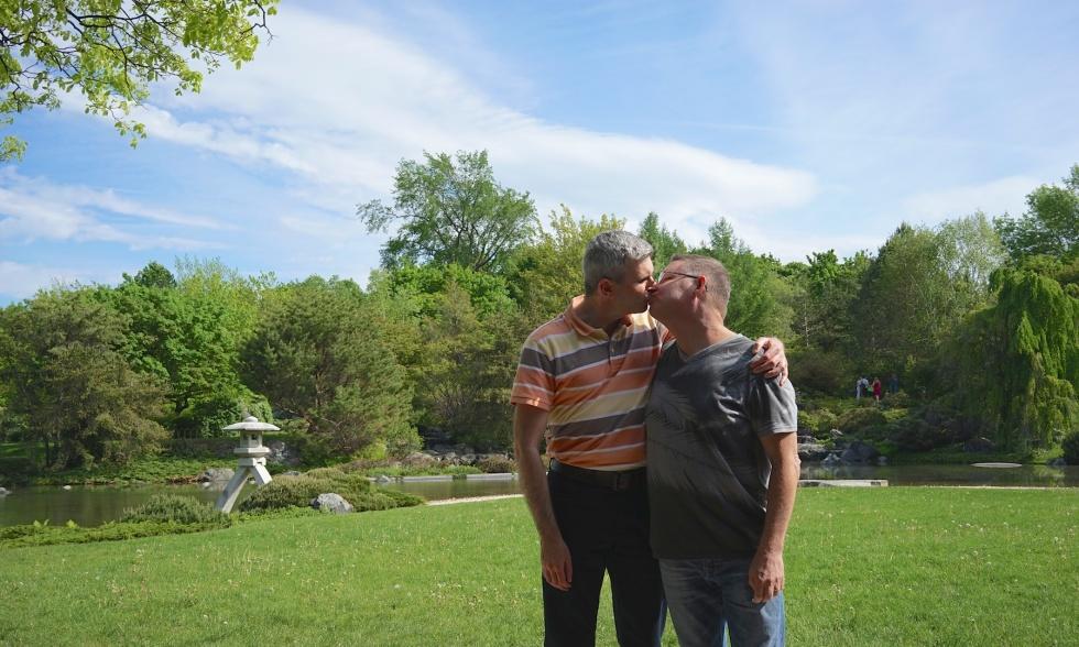 Andy & me in Jardin Botanique de Montréal (2 of 2)