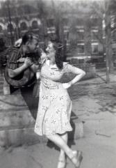 "Grandma frame right ""Logansport, Ind. May 15 & 16 - 1940"" —Linda Preston"
