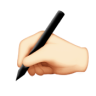 Writing Hand Emoji
