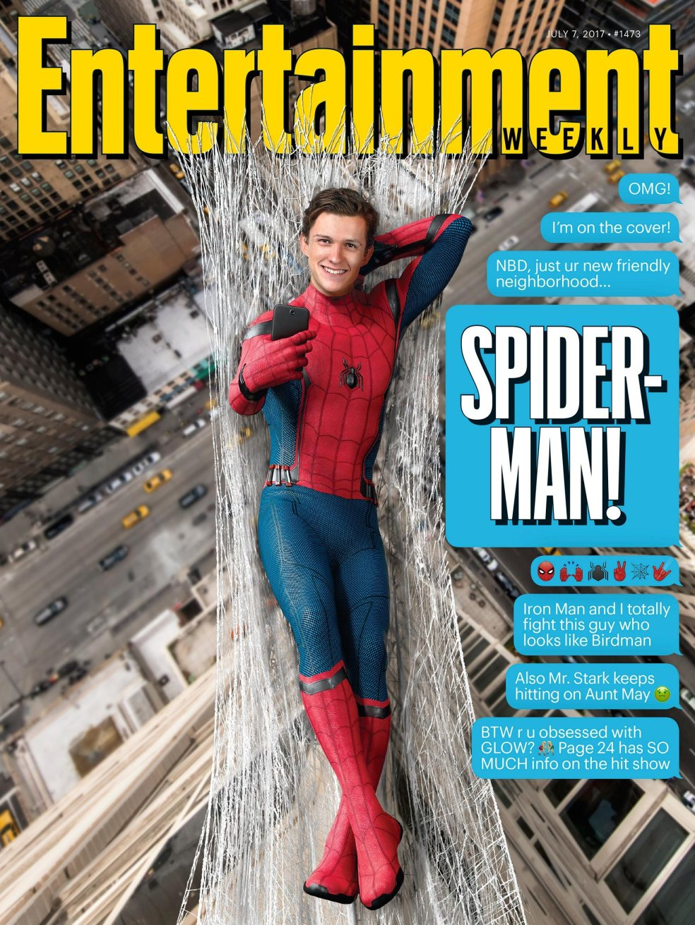 Entertainment Weekly cover July 7, 2017