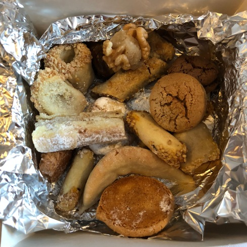 Assortment of pastries from BH